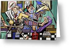 The Dentist Is In Root Canal Greeting Card by Anthony Falbo