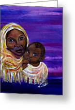 The Devotion Of A Mother's Love Greeting Card by The Art With A Heart By Charlotte Phillips