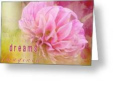 The Direction Of Your Dreams - Image Art Greeting Card by Jordan Blackstone