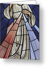 The Divine Mercy Greeting Card by Gilroy Stained Glass