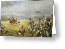 The Duel  Fair Play Greeting Card by Robert Alexander Hillingford