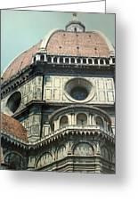 The Duomo Firenze Greeting Card by Melinda Saminski