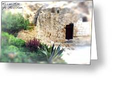 The Empty Tomb Greeting Card by Thomas R Fletcher