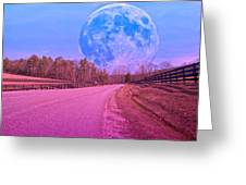 The Evening Begins Greeting Card by Betsy C Knapp