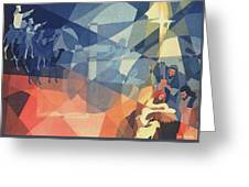 The Event 1965 Greeting Card by Glenn Bautista