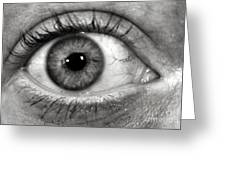 The Eye Greeting Card by Luke Moore