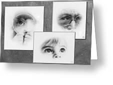 The Eyes Have It Greeting Card by Gun Legler