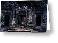 The Facade Of Sanctuary Greeting Card by Nawarat Namphon