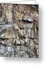 The Face In The Rock Greeting Card by JC Findley