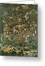 The Fairy Feller Master Stroke Greeting Card by Richard Dadd