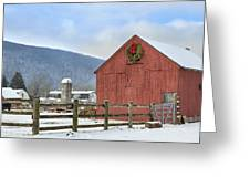 The Farm Greeting Card by Bill  Wakeley