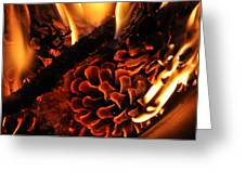 The Fire Starter Greeting Card by Ana Lusi