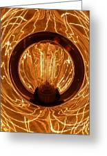 The Fire Within Greeting Card by Newel Hunter