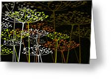 The Garden Of Your Mind 2 Greeting Card by Angelina Vick