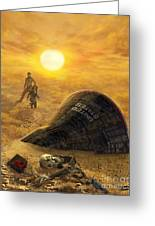 The Genesis Conspiracy Greeting Card by Stu Shepherd