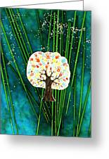 The Giving Tree Greeting Card by Anne-Elizabeth Whiteway