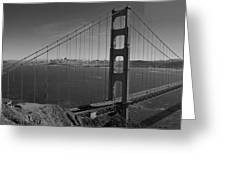 The Golden Gate Bridge Greeting Card by Twenty Two North Photography
