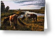 The Good Life Greeting Card by Robert McCubbin