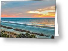 The Grand Strand Greeting Card by Donnie Smith