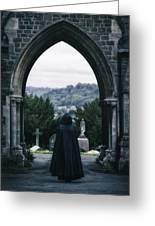 The Graveyard Greeting Card by Joana Kruse