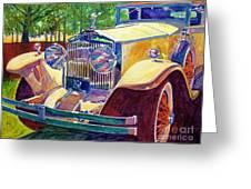 The Great Gatsby Greeting Card by David Lloyd Glover