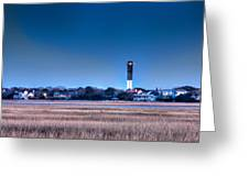 The Guiding Light Greeting Card by Walt  Baker
