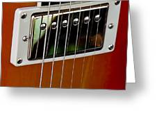 The Guitar Greeting Card by David Patterson