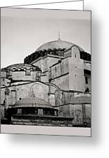 The Hagia Sophia Greeting Card by Shaun Higson