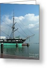 The Harbor Greeting Card by Arlene Carmel