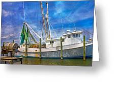 The Harbor II Greeting Card by Betsy Knapp