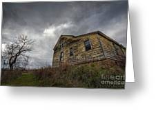 The Haunted Color Greeting Card by Michael Ver Sprill