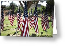 The Healing Field Greeting Card by Laurel Powell