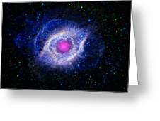 The Helix Nebula  Greeting Card by The  Vault - Jennifer Rondinelli Reilly