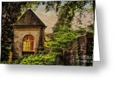 The Hideaway Greeting Card by Lois Bryan