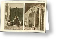 The holy sepulcher of Jerusalem Greeting Card by Splendid Art Prints