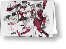 The Indians' Glory Years-late 90's Greeting Card by Joe Lisowski