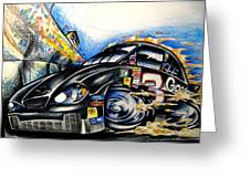 The Intimidator Greeting Card by Big Mike Roate