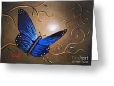 The Journey Home By Shawna Erback Greeting Card by Shawna Erback