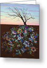 The Journey Greeting Card by James W Johnson