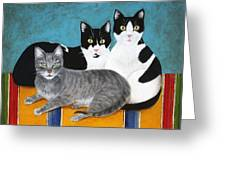 The Kids Greeting Card by Marna Edwards Flavell