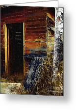 The Killing Shed Greeting Card by RC DeWinter