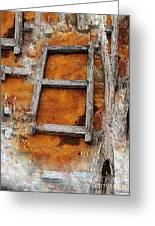 The Ladder Greeting Card by Makarand Purohit