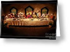 The Last Supper Greeting Card by Blake Richards