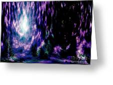 The Light Within Greeting Card by Annie Zeno