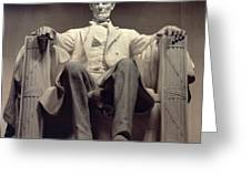 The Lincoln Memorial Greeting Card by Daniel Chester French