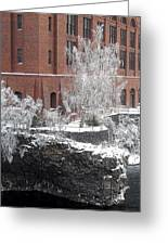 The Lone Sentinel - Spokane Washington Greeting Card by Daniel Hagerman