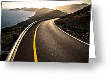 The Long and Winding Road Greeting Card by John Daly