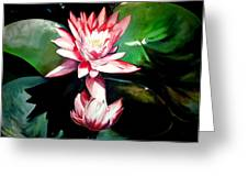 The Lotus Greeting Card by John  Duplantis