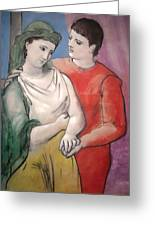 The Lovers Greeting Card by Pablo Picasso