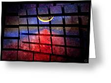 The Magic Window Greeting Card by Gun Legler
